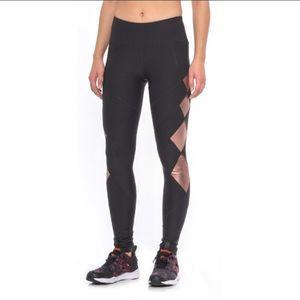 90 Degree By Reflex Pants - New 90 degrees by reflex diamond mesh leggings XL
